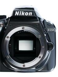 Зеркальная камера Nikon D3300 Kit 18-55mm VR AF-P серый