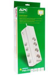 Сетевой фильтр APC Essential SurgeArrest PM8-RS белый