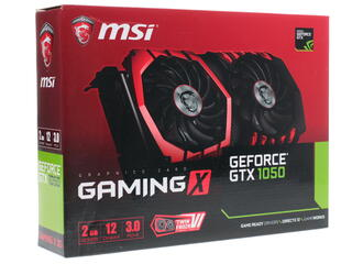 Видеокарта MSI GeForce GTX 1050 GAMING X [GTX 1050 GAMING X 2G]