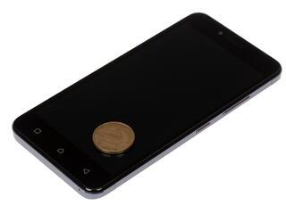 "5"" Смартфон Lenovo A6020 FHD 16 ГБ серый"