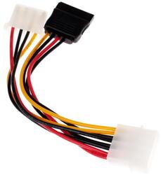 Переходник FinePower Molex - SATA 15pin