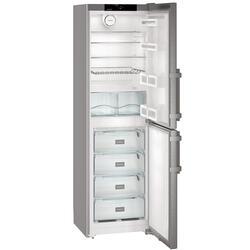Холодильник с морозильником Liebherr CNef 3915-20 001 серебристый