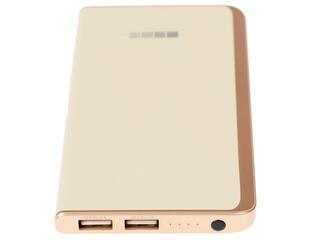 Портативный аккумулятор InterStep PB6000 золотистый
