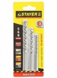 """Набор сверл STAYER """"MASTER"""" 29111-H3"""