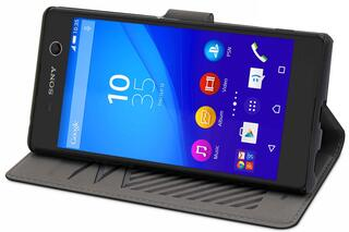 Чехол-книжка  Muvit для смартфона Sony Xperia M5