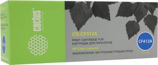 Картридж лазерный Cactus CS-CF412A