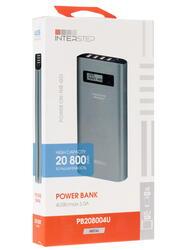 Портативный аккумулятор Interstep PB208004U серый