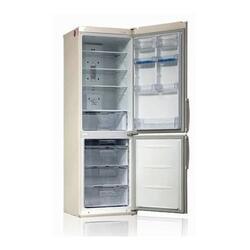 Холодильник с морозильником LG GA-B379UEDA бежевый