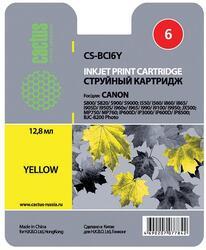 Картридж струйный Cactus CS-BCI6Y