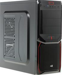 Корпус AeroCool V3X Advance Red Edition черный