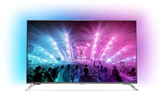 """65"""" (165 см)  LED-телевизор Philips 65PUS6521 серебристый"""