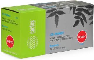 Картридж лазерный Cactus CS-TK560С