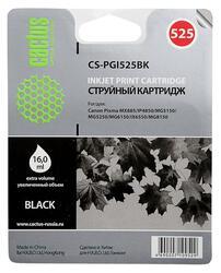 Картридж струйный Cactus CS-PGI525BK