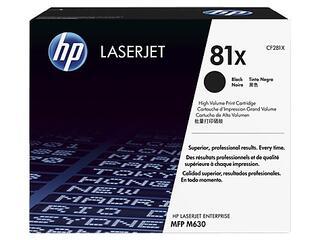 Картридж лазерный HP 81X (CF281X)