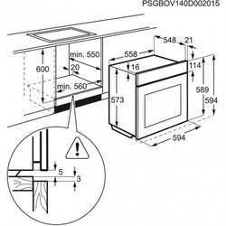 Электрический духовой шкаф Electrolux EOC96851AX