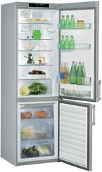 Холодильник с морозильником WHIRLPOOL WBE 3625 NF TS серебристый