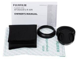 Объектив FujiFilm XF 35mm F2.0 R WR Fujinon