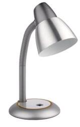 Настольный светильник ЭРА N-115-E27-40W-GY серый