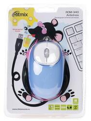 Мышь проводная Ritmix ROM-340 Antistress