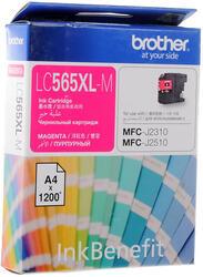 Картридж струйный Brother LC-565XLM