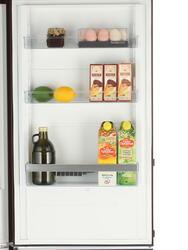 Холодильник с морозильником Gorenje NRK6192MCH коричневый