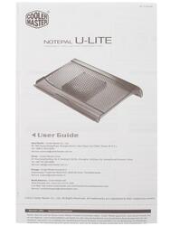 Подставка для ноутбука CoolerMaster NotePal U-Lite CLM-R9-NBC-ULTK-GP черный