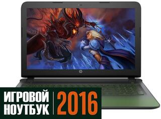 "15.6"" Ноутбук HP Pavilion Gaming 15-ak105ur черный"
