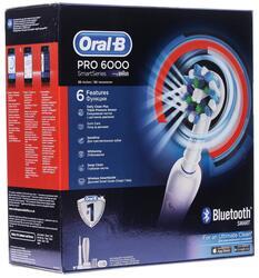 Электрическая зубная щетка Braun Oral-B PRO 6000 White D36.545.5X