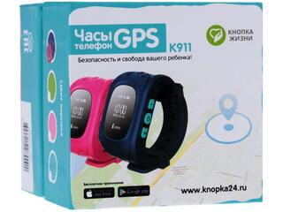 Детские часы-телефон Кнопка Жизни К 911 розовый