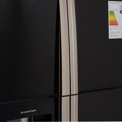 Холодильник Hitachi R-W722 PU1 GBK черный