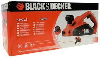 Электрический рубанок Black&Decker KW712