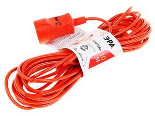 Удлинитель силовой Эра UP-1-2x1.0-10m оранжевый