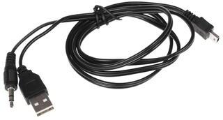 Кабель соединительный DEXP 3.5 mm jack - USB mini
