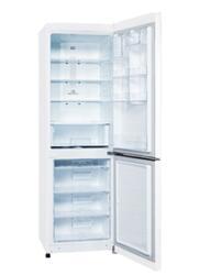 Холодильник с морозильником LG GA-B409SQQL белый