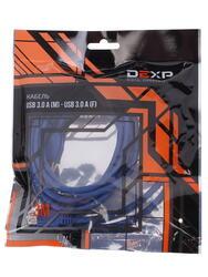 Кабель удлинительный DEXP USB A - USB A