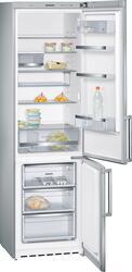 Холодильник с морозильником Siemens KG39EAI20R серебристый