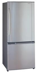 Холодильник с морозильником Panasonic NR-B651BR-X4 серебристый