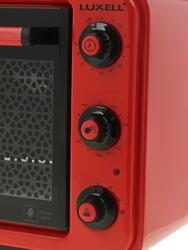 Электропечь LUXELL KF 3125 красный