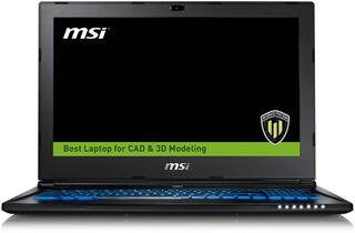 "15.6"" Ноутбук MSI WS60 6QJ-626RU черный"