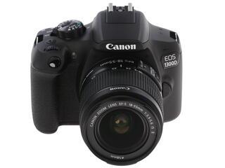 Зеркальная камера Canon EOS 1300D Kit 18-55mm IS черный
