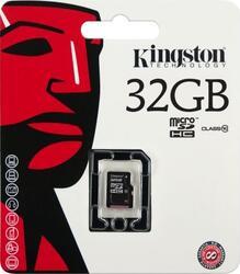 Карта памяти Kingston SDC10/32GBSP microSDHC 32 Гб