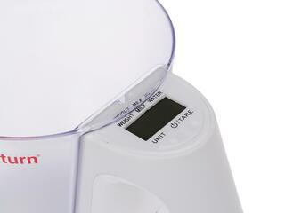 Кухонные весы Saturn ST-KS7800 белый