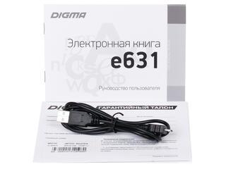 6'' Электронная книга Digma E631 черный