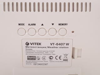 Метеостанция Vitek VT-6407