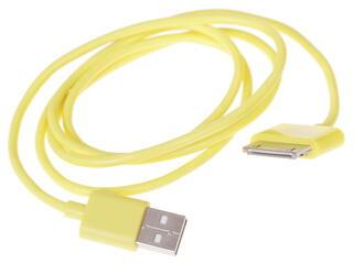 Кабель InterStep USB - 30-pin желтый