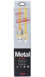 Кабель Remax Platinum USB - Lightning 8-pin золотистый
