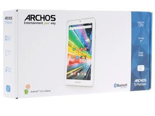 """7"""" Планшет Archos 70 Platinum 16 Гб  серебристый"""