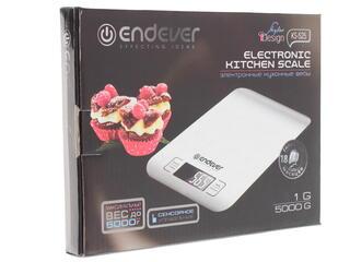 Кухонные весы Endever KS-525 серебристый