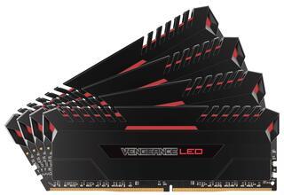 Оперативная память Corsair Vengeance LED [CMU32GX4M4C3000C15R] 32 ГБ