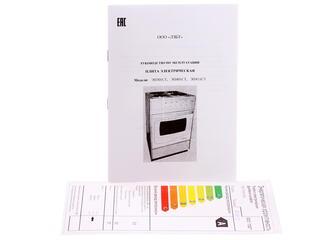 Электрическая плита ЛЫСЬВА ЭП301СТ белый
